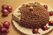 Рецепт. Торт ''Ёжик'' без выпечки из печенья
