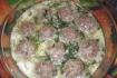 Рецепт. Фрикадельки с рисом в сливочном соусе
