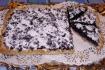 Рецепт. Черничный пирог из песочного теста