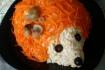 Рецепт. Салат ''Ёжик'' из корейской моркови