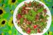 Рецепт. Салат без майонеза с жареным куриным филе