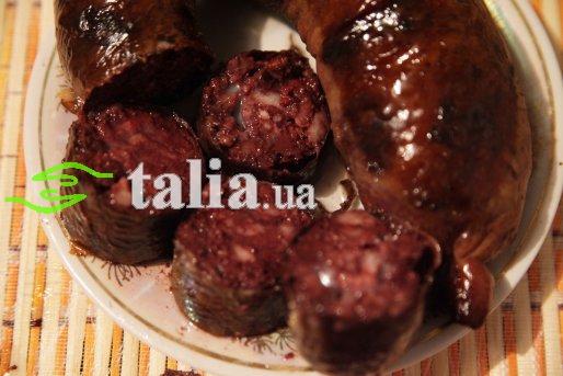 Рецепт. Кровяная колбаса (кровянка)