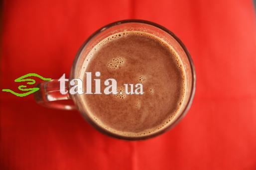 Рецепт. Горячий шоколад