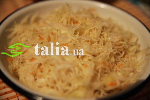 Рецепт. Маринованная капуста с уксусом