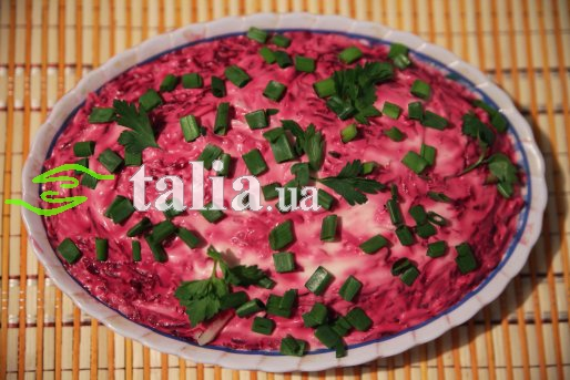 салат из красной свеклы рецепт с фото
