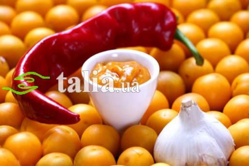 Рецепт. Соус ''Ткемали'' или сливовый соус