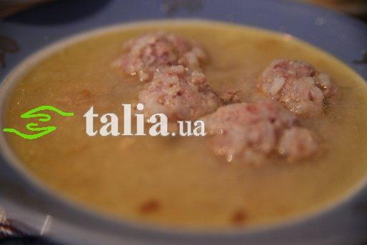 Суп гороховый с копчеными ребрышками: пошаговый рецепт с фото