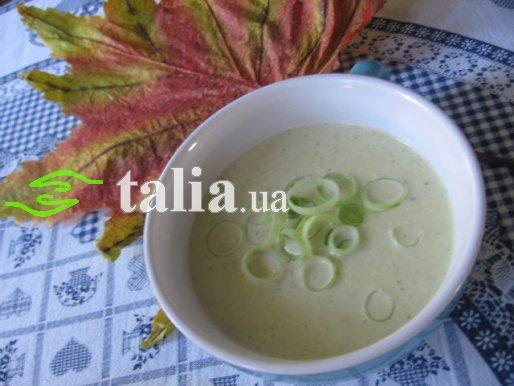 Рецепт. Сливочный суп с луком пореем