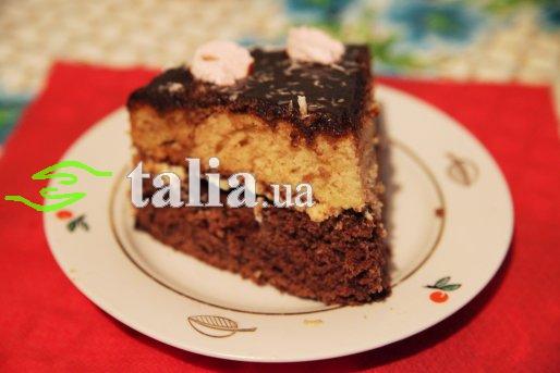 Рецепт. Торт ''Сметанник'' с масляным кремом