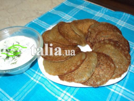 Рецепт. Картофельные оладьи заварные