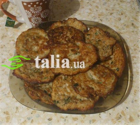 Рецепт. Овсяные блинчики с зеленью