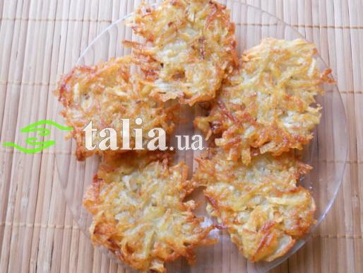 Рецепт. Драники постные из картофеля