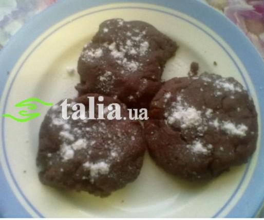 Рецепт. Постные сладости. Шоколадное печенье
