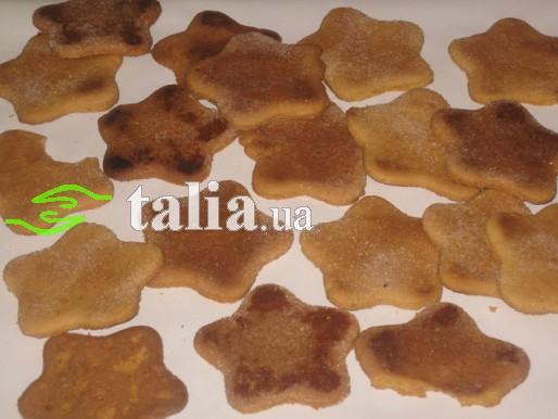 Рецепт. Печенье постное с томатным соком