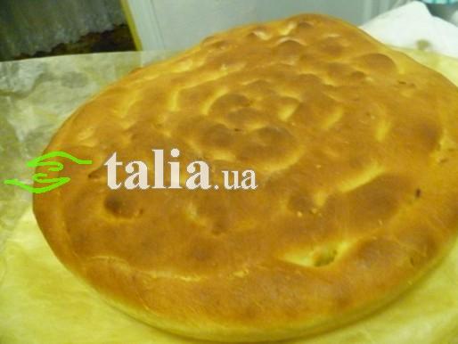 Рецепт. Постный пирог на картофельном отваре