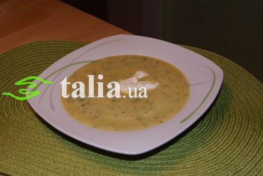 Рецепт. Постный суп-пюре из овощей