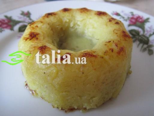 Рецепт. Постная запеканка из картофеля