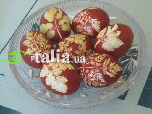 Рецепт. Покраска пасхальных яиц луковой шелухой