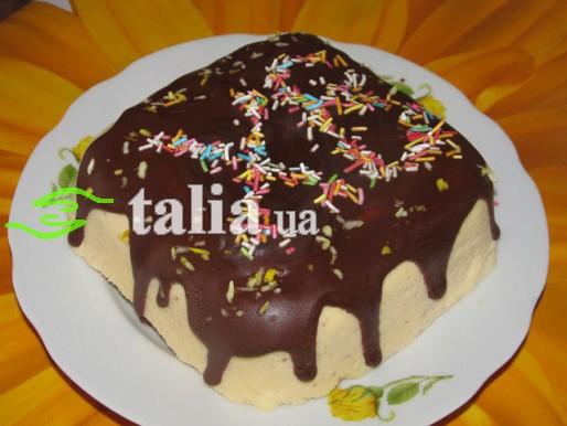 Рецепт. Пасха ''Царская'' с шоколадной глазурью