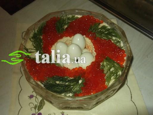 Рецепт. Пасхальный салат с сёмгой