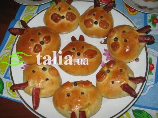Рецепт. Пасхальный заяц с капустой