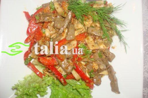 Рецепт. Мясное ассорти с болгарским перцем