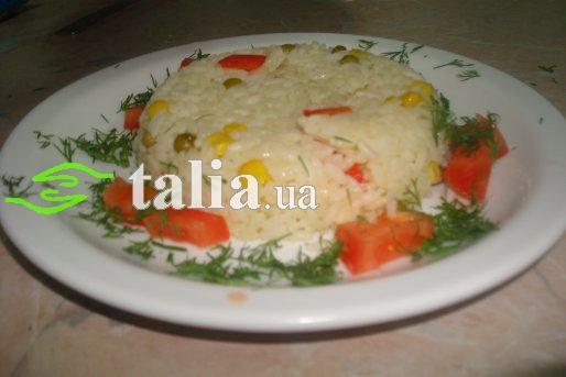 Рецепт. Ризотто с овощами