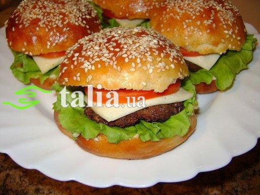 Рецепт. Гамбургер ''Домашний Макдональдс''
