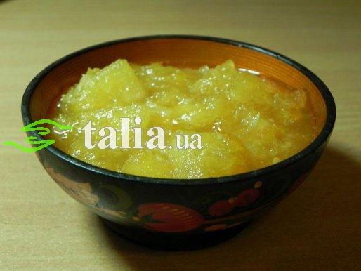 Рецепт. Варенье из дыни и бананов