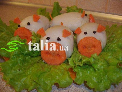 Рецепт. Фаршированные кальмары с сыром и креветками