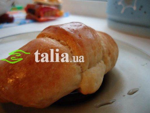 Рецепт. Круассаны с ягодным мармеладом