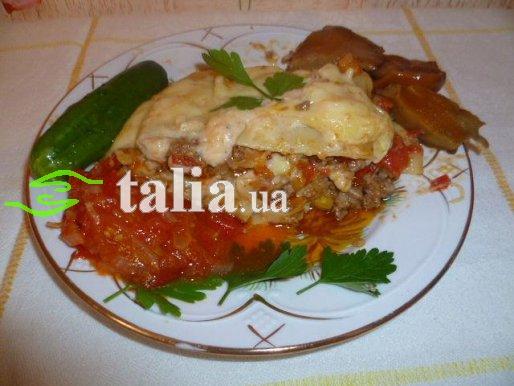 Рецепт. Лазанья с фаршем с соусом ''Бешамель''