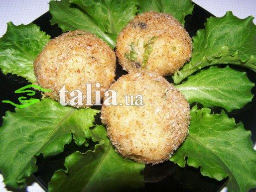 Рецепт. Наггетсы с лососем и сыром