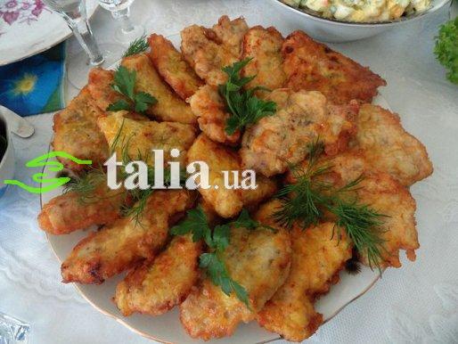 Рецепт. Отбивные из куриного филе