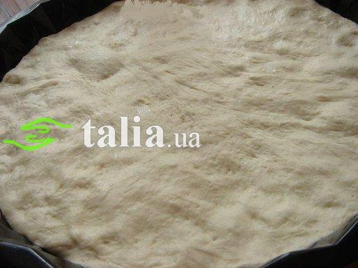 Рецепт. Дрожжевое тесто для пиццы