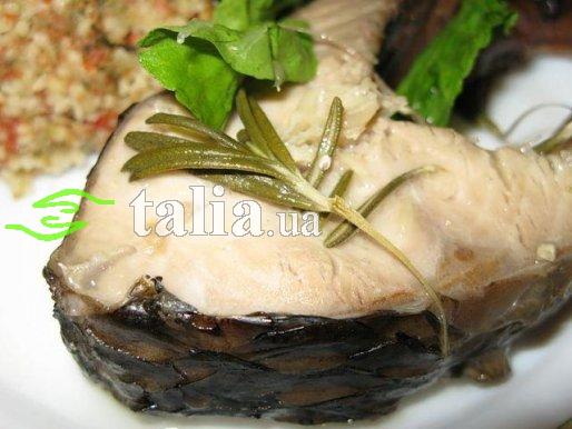 Рецепт. Рыба в пароварке со специями