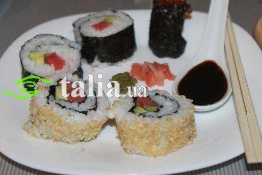 Рецепт. Суши
