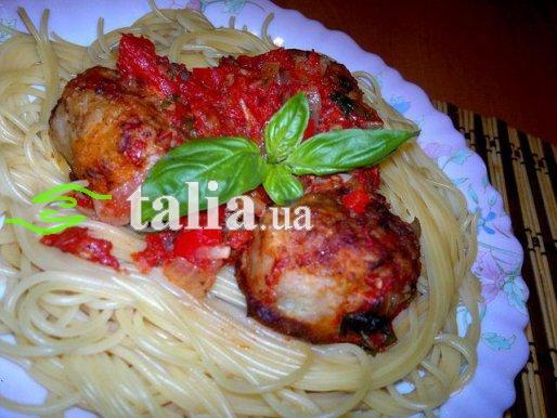 Рецепт. Тефтели в томатном соусе