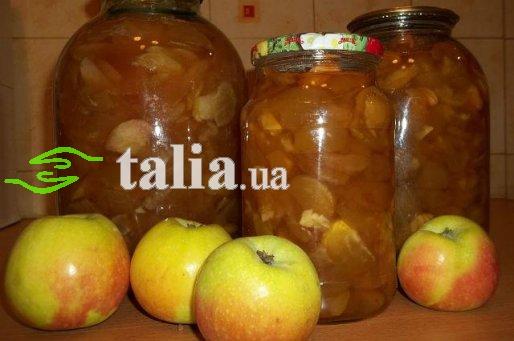 Рецепт. Яблочное варенье дольками. Варенье из яблок