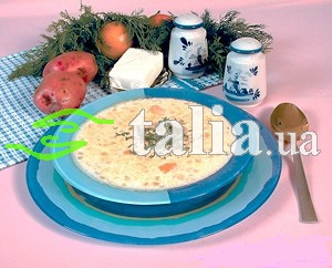 Рецепт. Рыбный суп