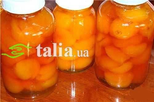 Рецепт. Компот из абрикосов бабушкин