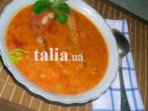 Рецепт. Суп из чечевицы