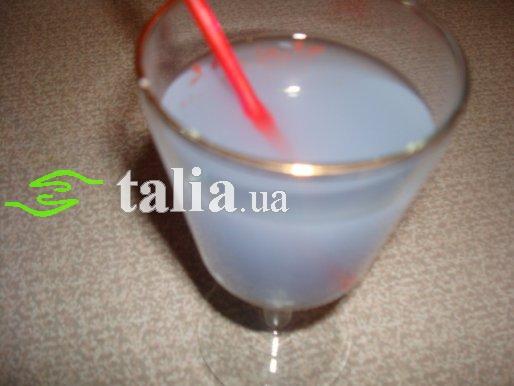 Рецепт. Коктейль Голубая лагуна