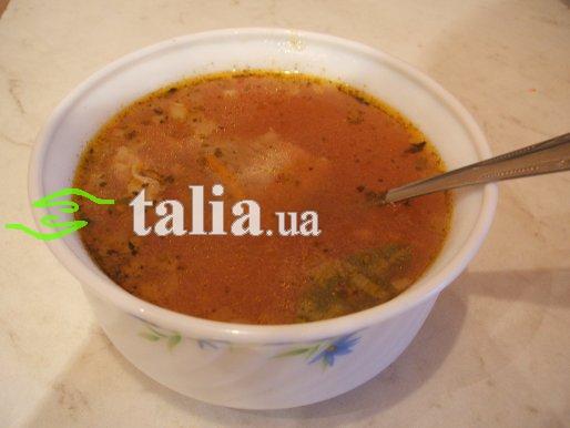 Рецепт. Суп ''Харчо''