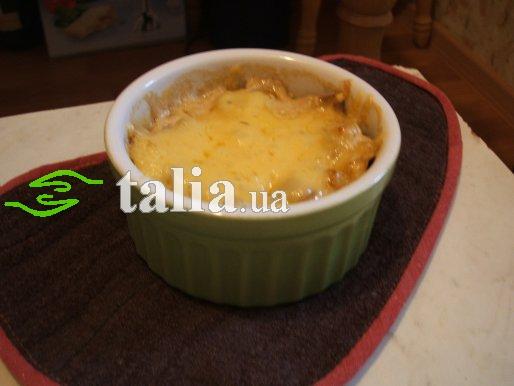 Рецепт. Жульен с курицей и грибами (жюльен)