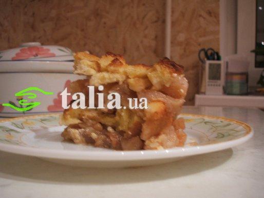 Рецепт. Шарлотка с яблоками