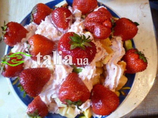 Рецепт. Фруктовый салат ''Македония''