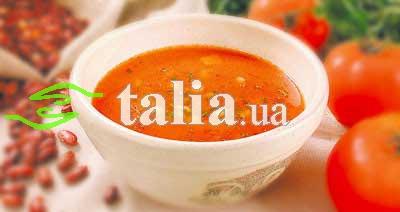 Рецепт. Фасолевый суп с мясом ''Чили''