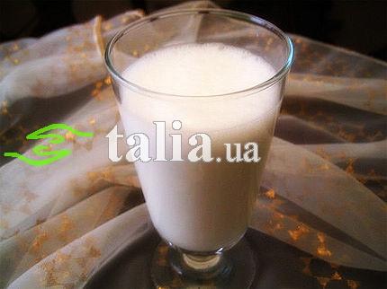 Рецепт. Молочный коктейль с бананом