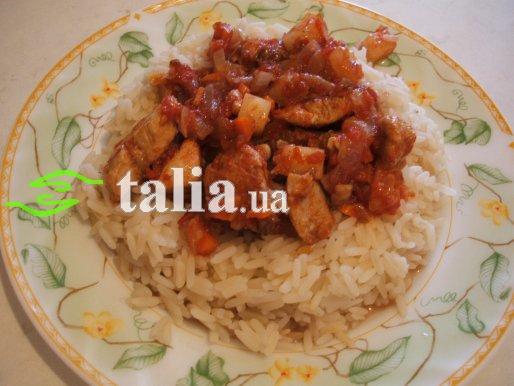 Рецепт. Курица с ананасами (куриное филе с ананасами)